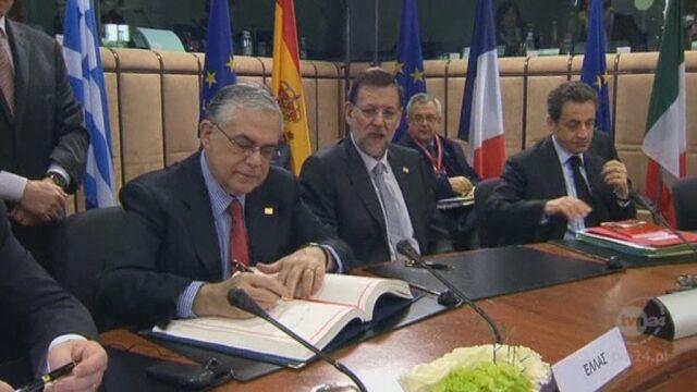 Przywódcy podpisują pakt fiskalny