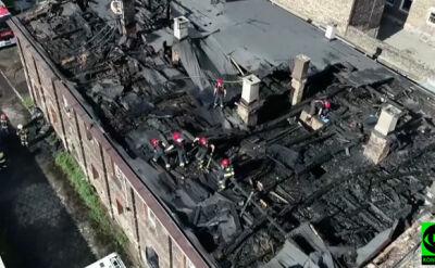 """""""Obudziły nas syreny"""". Siedem rodzin straciło dach nad głową"""