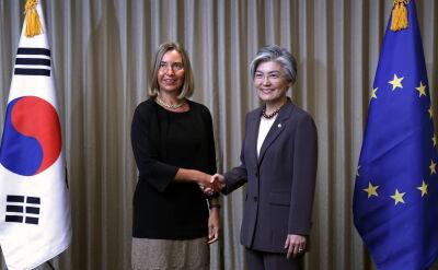 Mogherini z wizytą w Seulu