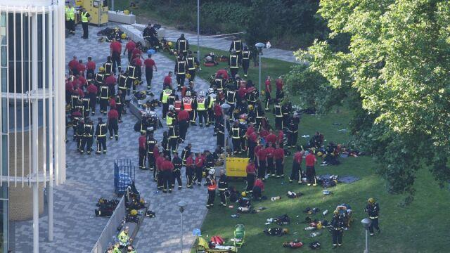 Pożar wieżowca w Londynie. Relacja reportera TVN24