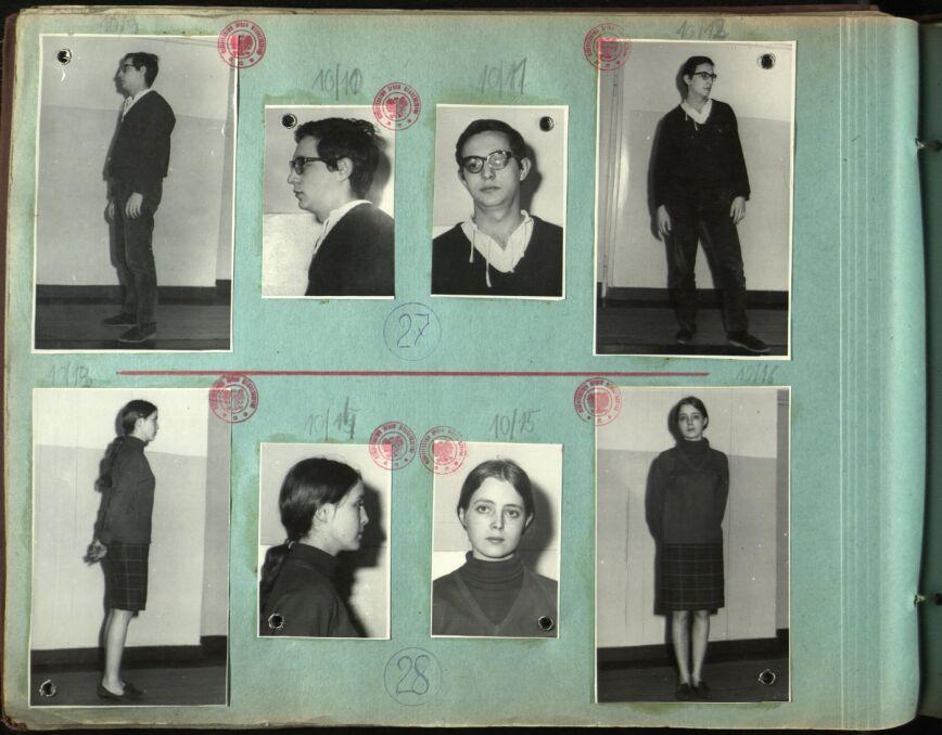 Henryk Szlajfer, Irena Grudzińska