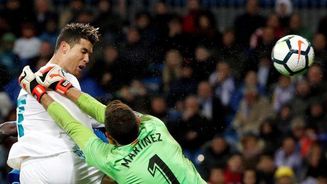 Kolejny jubileusz Ronaldo. Meczu nie dokończył