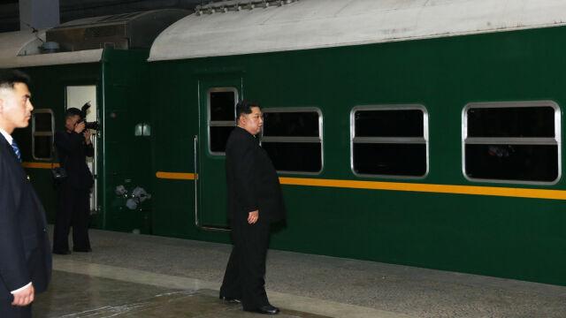 Dwa i pół dnia podróży. Kim na spotkanie z Trumpem ma przyjechać pociągiem