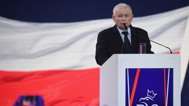 """Wolność, równość, nowe 500+ i """"trzynastka"""" dla emerytów. Kaczyński na konwencji PiS"""