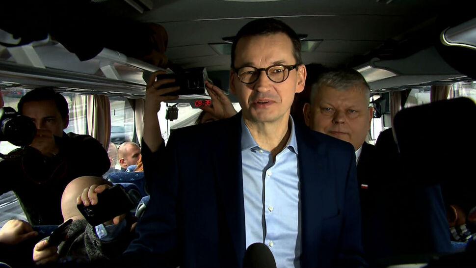 Morawiecki: podjąłem decyzję o odwołaniu polskiej delegacji na szczyt w Izraelu