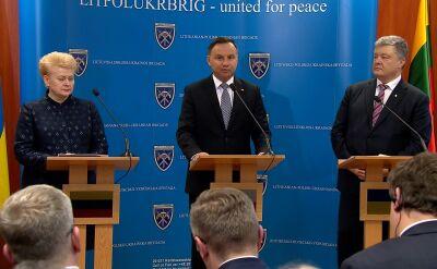 Duda: ukraińscy żołnierze naprawdę walczą