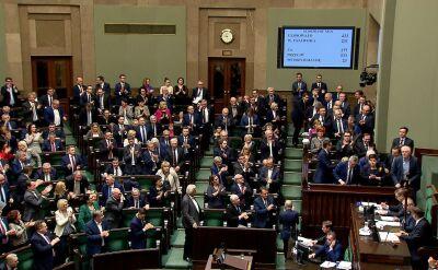 Sejm: głosowanie i burzliwa debata w sprawie wotum nieufności wobec Ziobry