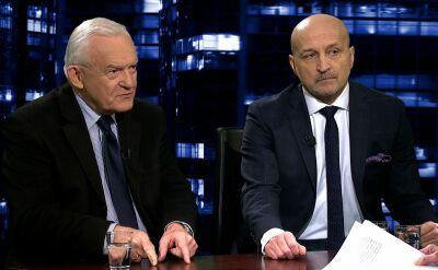"""Kazimierz Marcinkiewicz i Leszek Miller w """"Kropce nad i"""""""