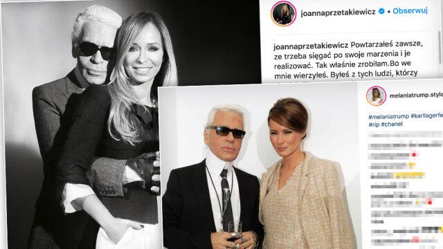 """Gwiazdy żegnają Karla Lagerfelda. """"Świat mody bez Ciebie już nigdy nie będzie taki sam"""""""