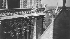 Fragment Katedry Notre-Dame, 1932r.