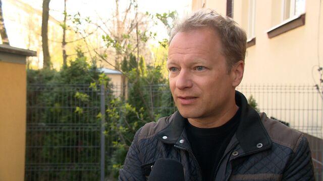 Maciej Stuhr wspiera strajk nauczycieli