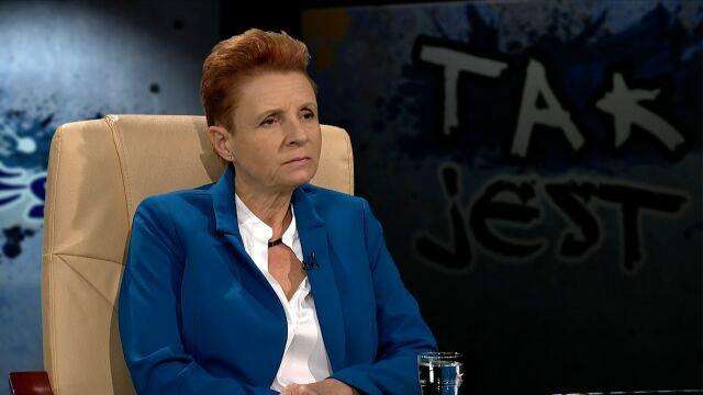 Małgorzata Omilanowska w Tak Jest