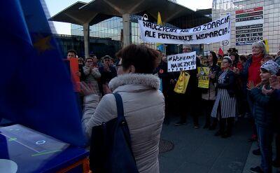 Katowice, Wrocław, Białystok. Wiece poparcia dla nauczycieli
