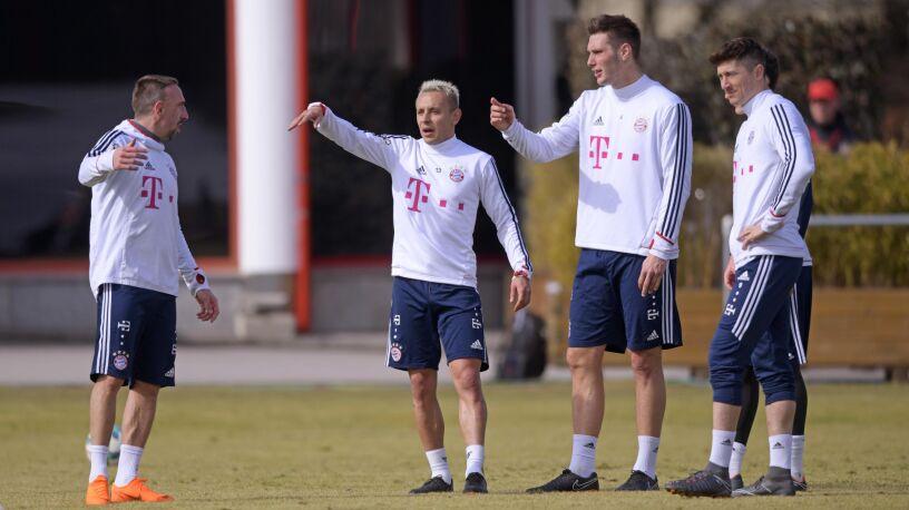 Obrońca Bayernu o bójce Lewandowskiego.