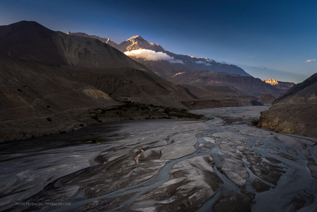 Dolina życiodajnej rzeki Kali Gandaki