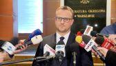 Cała konferencja prokuratury w sprawie przesłuchania Tuska