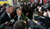 """Tusk w drodze na przesłuchanie. """"To element politycznej nagonki"""""""