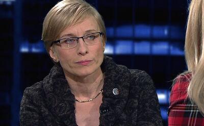Gosiewska: Deresz nigdy nie był członkiem żadnego zespołu