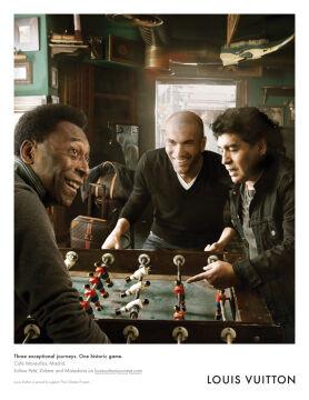 Diego Maradona, Pele i Zinedine Zidane