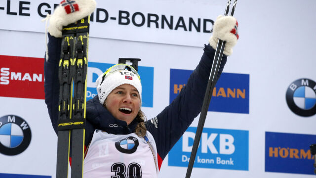 Znowu Eckhoff. Żuk najlepsza z polskich biathlonistek