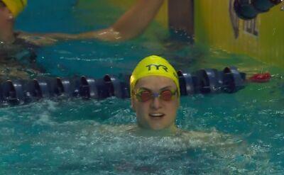 Niespodzianka w rywalizacji na 50 m stylem motylkowym kobiet w ISL w Las Vegas