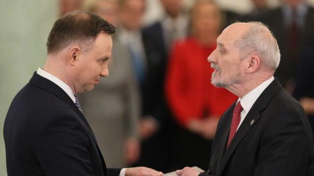 Antoni Macierewicz ministrem w rządzie Mateusza Morawieckiego