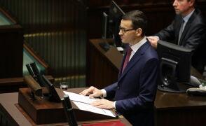 I część expose premiera Mateusza Morawieckiego
