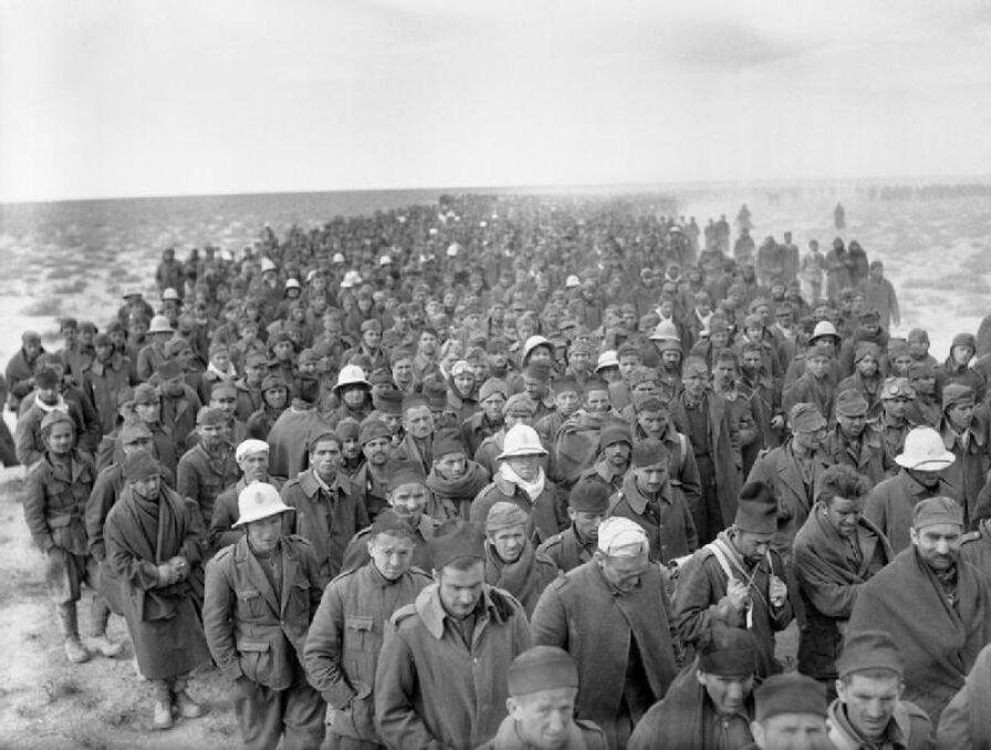Tysiące włoskich żołnierzy wziętych do niewoli w Bardii