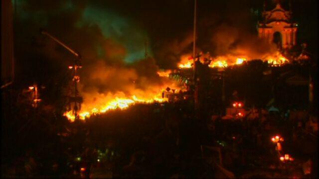 Kijów w ogniu