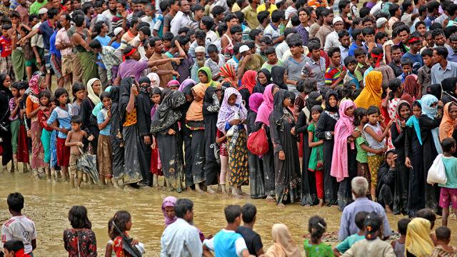 Sankcje na birmańskich wojskowych za czystki etniczne na Rohindżach