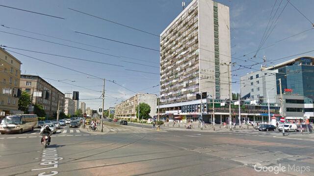 Policyjny pościg ulicami Wrocławia zakończył się kolizją