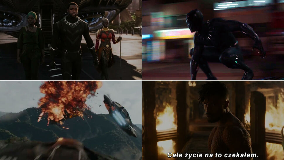 Czarna Pantera staje w obronie świata