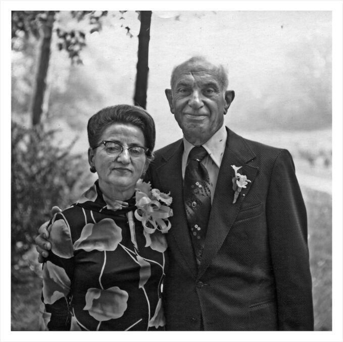 Estera i Zygmunt Binderowie w Detroit