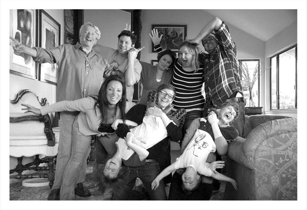 Portret rodzinny w domu Baralów