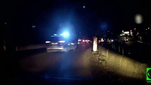 Uciekał przed policją, padły strzały. Kierowca trafił do aresztu