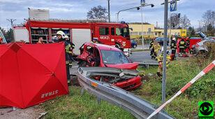 Dwie osoby zginęły, dwie są ranne. Tragiczny wypadek w Sławkowie