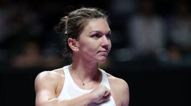Halep obroniła meczową, by pokonać Andreescu. Wielkie emocje w Finałach WTA