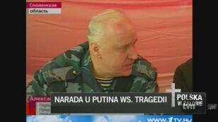 Śledczy raportują Putinowi