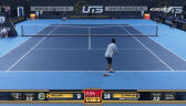 Skrót meczu Andujar - De Minaur w Ultimate Tennis Showdown 3