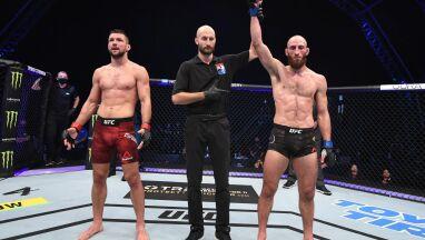 Polak przegrał w debiucie w UFC. Kontrowersyjna decyzja sędziów