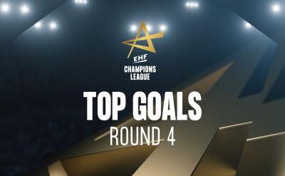 Najlepsze gole 4. kolejki Ligi Mistrzów piłkarzy ręcznych