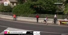 Upadek Molano na 14. etapie Giro d'Italia