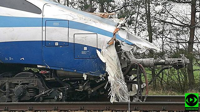 Pendolino zderzyło się z ciężarówką. Naprawa będzie kosztowała ponad 8,5 mln euro