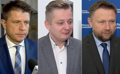 Stefaniak i Kierwiński o aresztowaniu Chrzanowskiego