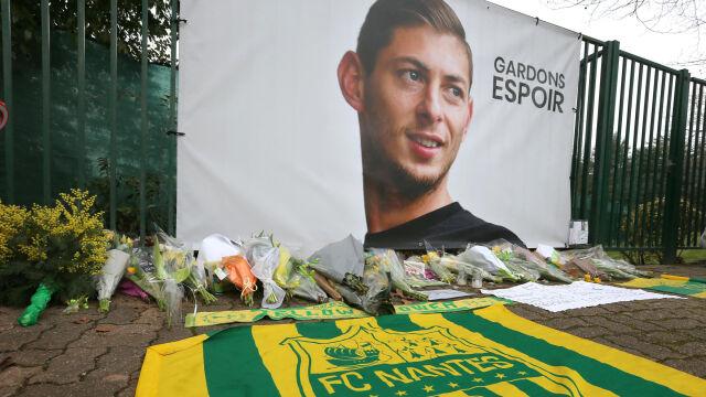 Śledczy podali możliwą przyczynę wypadku awionetki i śmierci Emiliano Sali