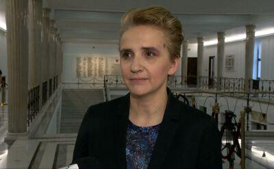 Joanna Scheuring-Wielgus o deklaracji szefa MSWiA