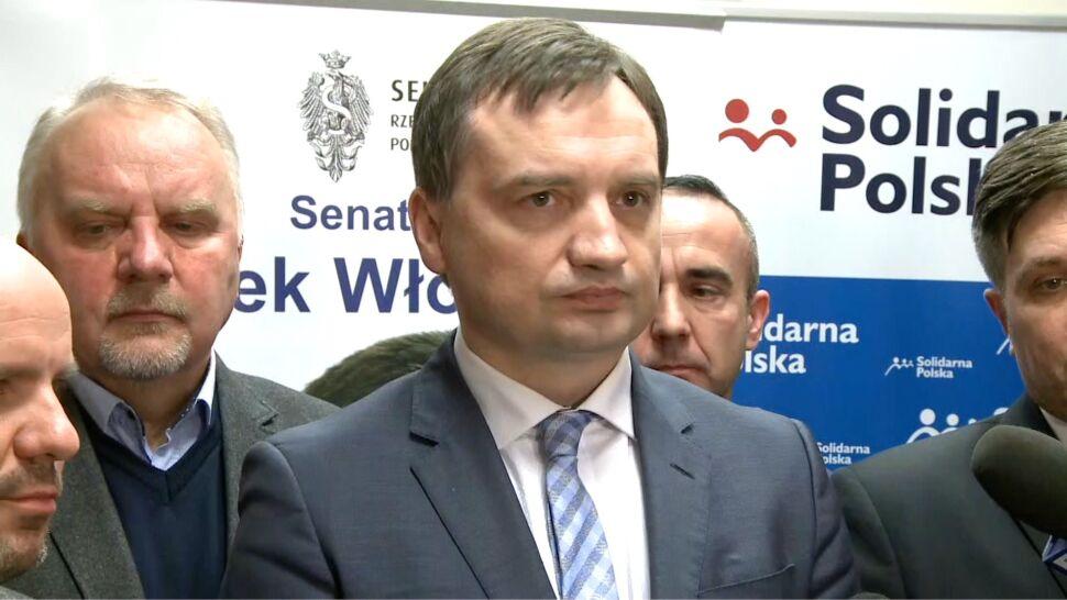 Ziobro: doszło do poważnych uchybień w śledztwie, będą konsekwencje personalne