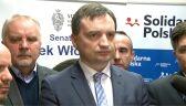 Ziobro o śledztwie w sprawie fałszowania podpisów na listach MW