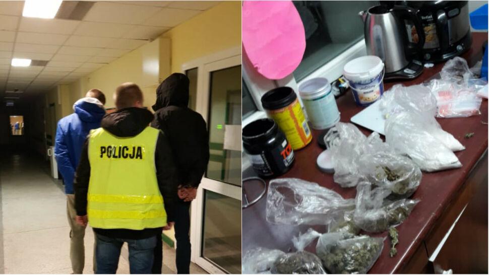 """""""Narkotyki były poupychane w całym mieszkaniu"""". Zaczęło się od kontroli drogowej"""