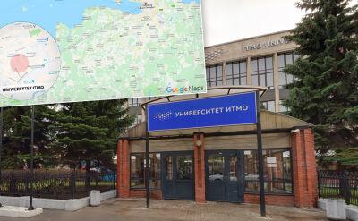 Katastrofa budowlana na uniwersytecie w Petersburgu